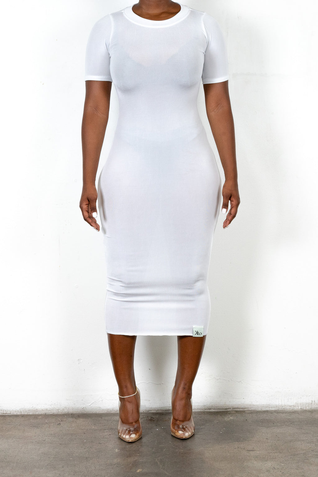Elaine Dress (White)