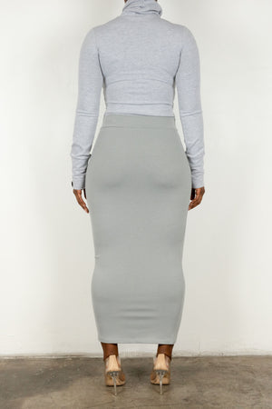 Grace skirt (Grey)
