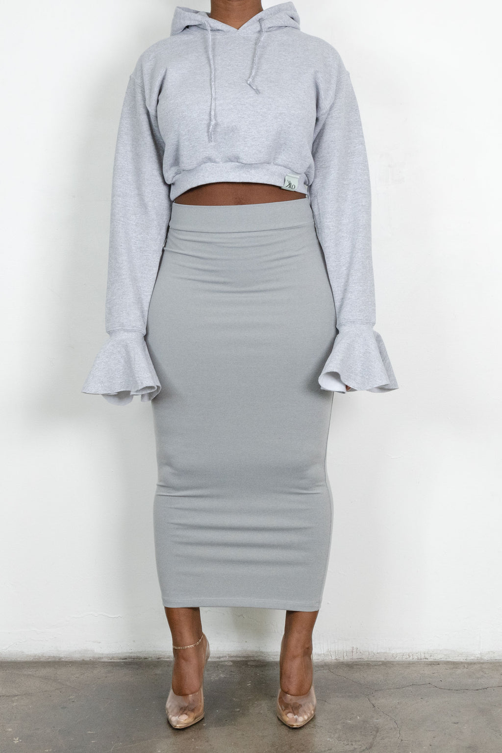 Lauren sweatshirt (Heather Grey)