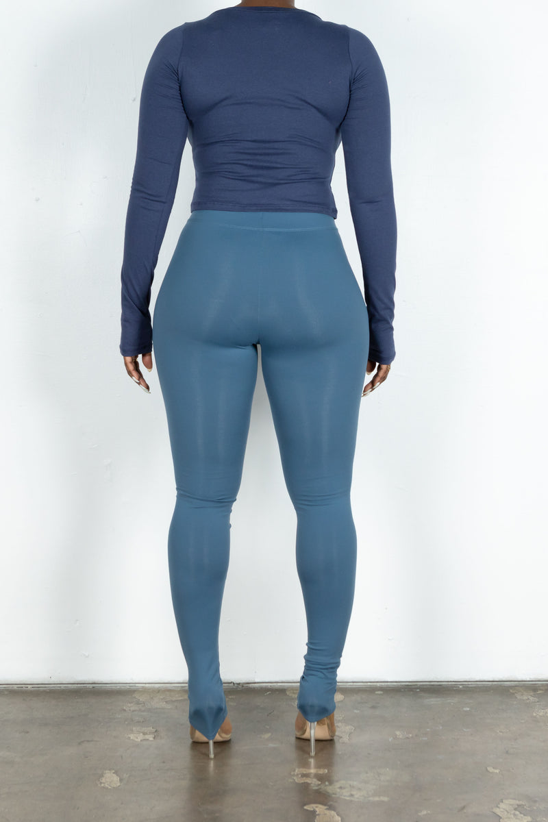 Thea Leggings (Ocean)