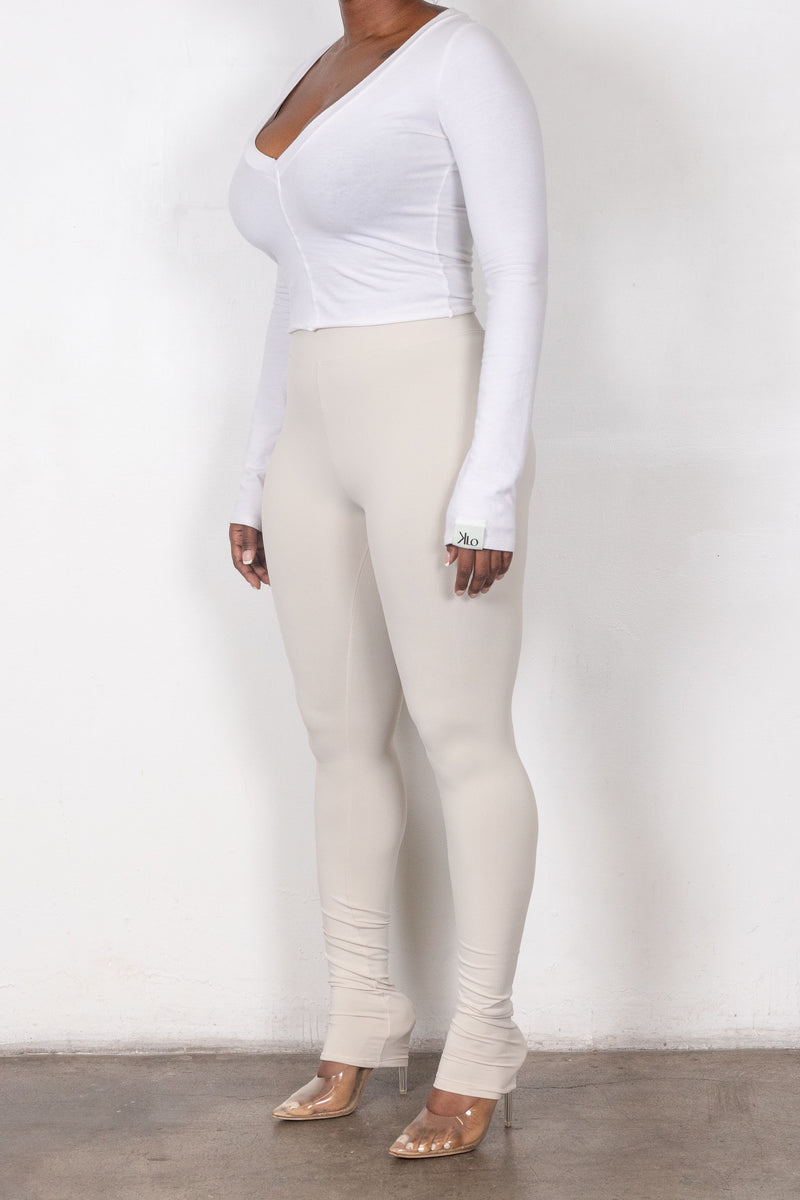 Thea Leggings (Beige)