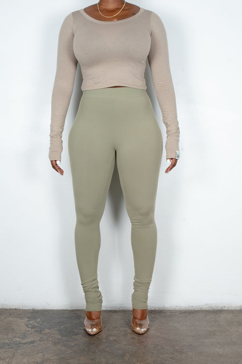 Thea Leggings (Light Sage)