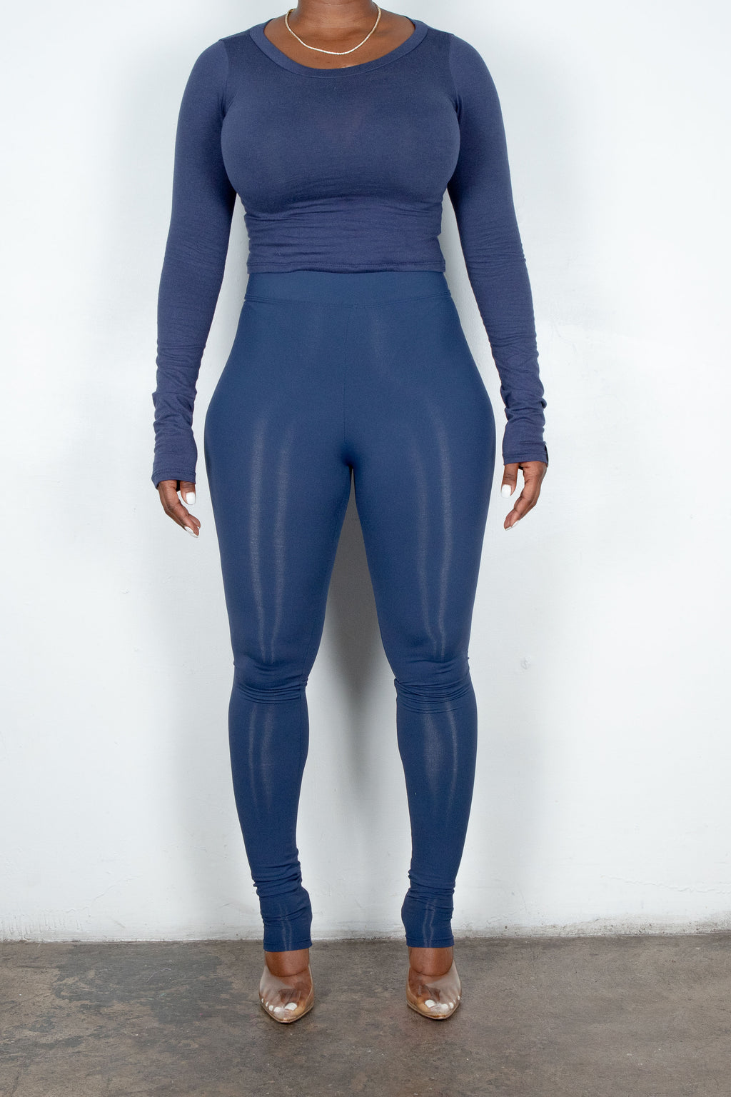 Thea Leggings (Navy)