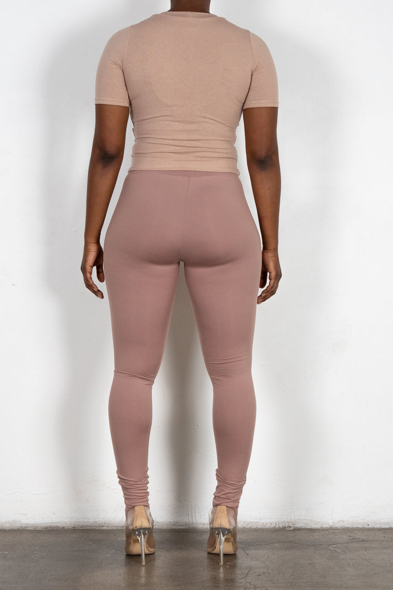 Thea Leggings (Rose)