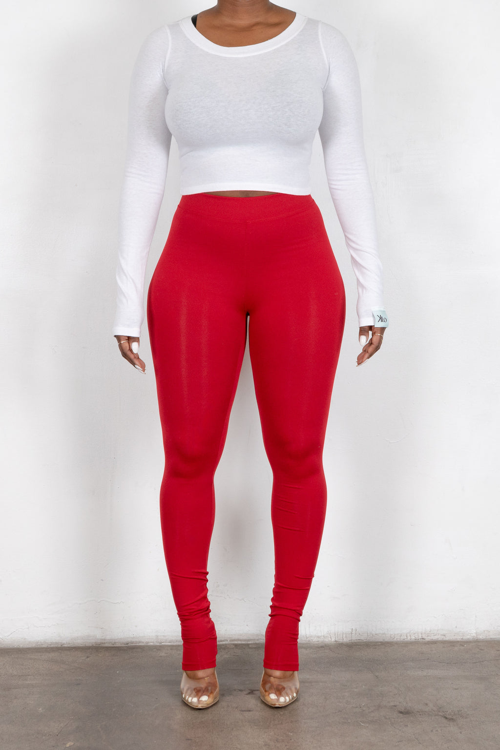 Thea Leggings (Red)