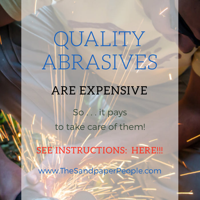 Taking care of your abrasives