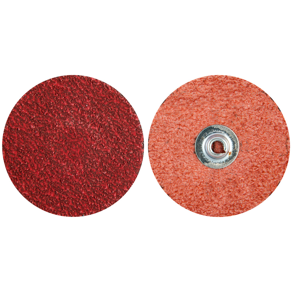 Roloc Discs Merit 63390 4 Inch Quickchange Disc 80 Grit Ultra Ceramic Plus Ceramic Alumina