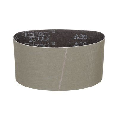 Pump Sleeves 3M AB69679 Sanding Belts 237AA Cloth x Open Aluminum Oxide Gray A30 3-1/2x15-1/2
