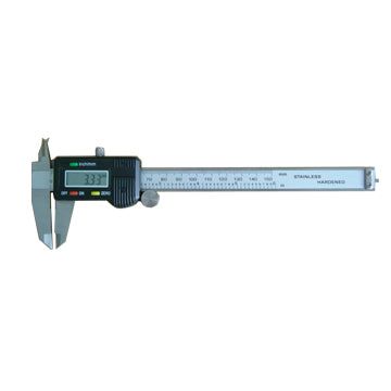 Tuff Grade IDI-21200S Digital Calipers Range 0-8 Inch Resolution 0.0005 Inch Display Inch & Metric Housing Plastic Product Specs