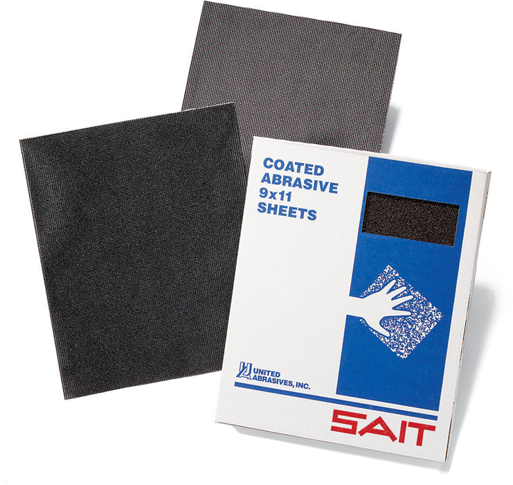 Plain Backing Sait 84070 4-3/16 Inch X 11 Inch Silicon Carbide 80 Grit Screen Plain Non-Vacuum Abrasive Screen Strip