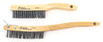 Scratch Brushes Sait 05755 3 X 19 X.012 Curved Stainless Steel Scratch