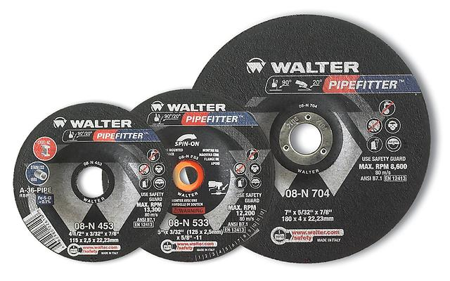 Pipefitters Walter 08N634 6 Inch x 5/32 Inch x 5/8-11 Pipefitter'S Pin-On