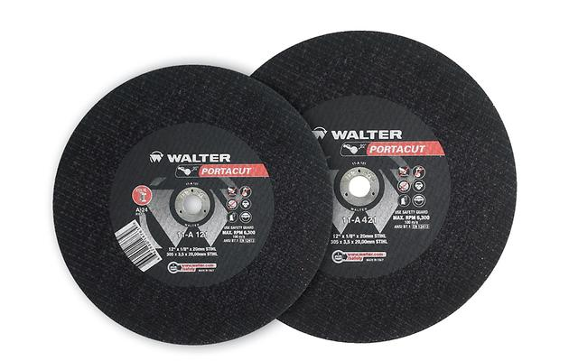 Type 01 Straight Wheels Walter 11A143 14X1 Inch A24 Portacut Wheel