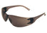 Glasses Tuff Grade TGSG003 Safety Glasses Frame Black Lens Grey