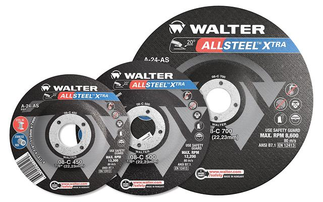 Wheels Walter 08C700 7 x 1/4 Allsteel Wheel