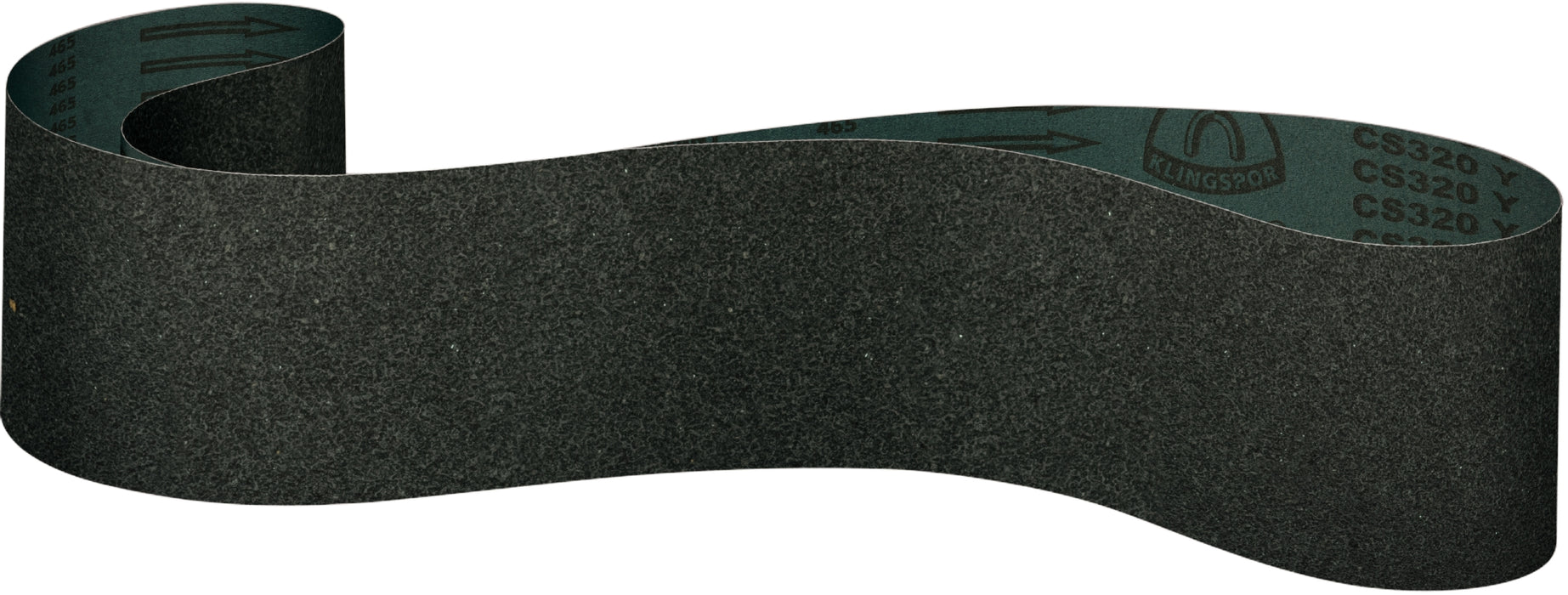 Narrow Belts Klingspor 302746 4 Inch x 106 Inch Sanding Belt 60 Grit CS320Y Silicon Carbide Y Polyester Backing