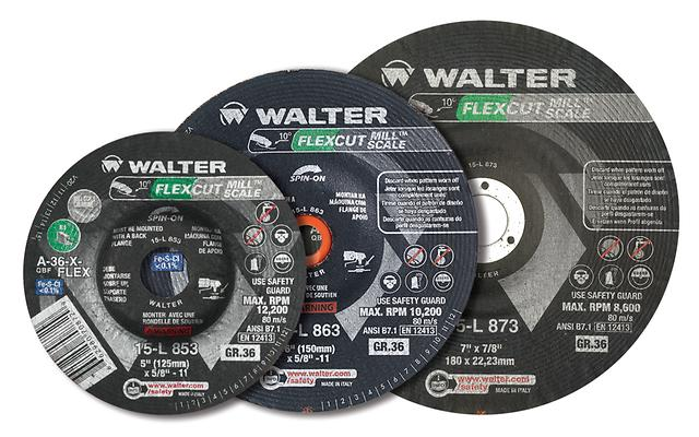 Grinding Wheels Walter 15L853 5 Inch Gr 36 Flexcut / Mill Scale