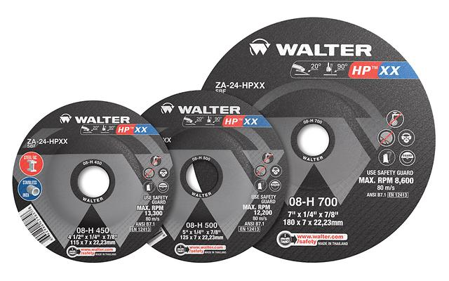 Grinding Wheels Walter 08K701 7X1/4 -Xx- Type 28 Grinding Wheel
