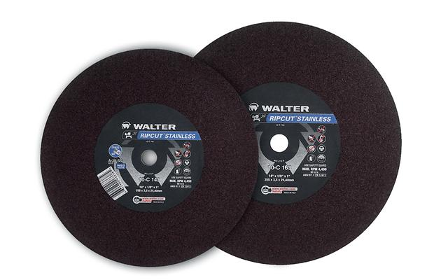 Type 01 Straight Wheels Walter 10B143 14 Inch F/Cut Ripcut Cut-Off Wheel