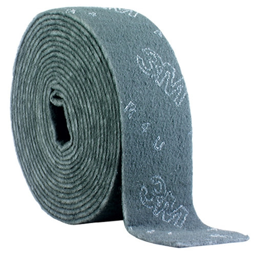 Non-woven Rolls 3M SB28176 Scotch-Brite Production Clean & Finish Roll 6 in x 30 Ft A Very Fine