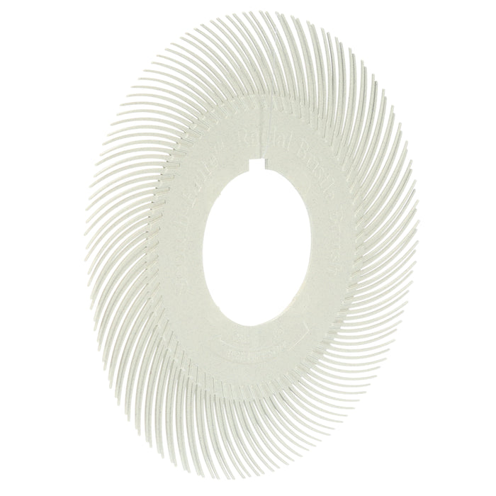 Replacement Parts 3M 7100138184 Scotch-Brite Radial Bristle Brush Replacement Disc T-C 120 Refill 6 in With Keyway 4 Discs Per Pack 2 Pac
