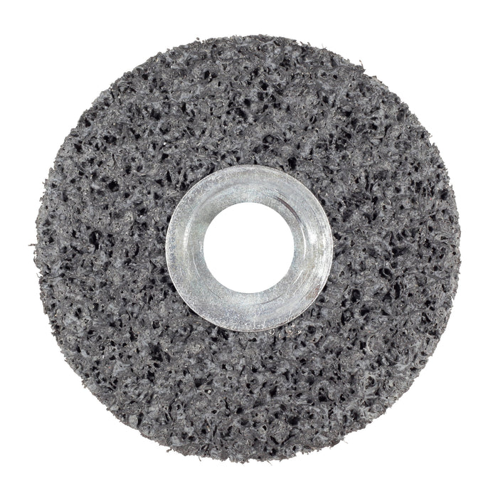 Non-woven Wheels 3M SB01021 Scotch-Brite Clean & Strip Unitized Wheel 4 in x 1 in x 1/4 in 7S Extra-Coarse