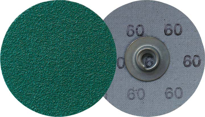 Socatt Discs Klingspor 295338 2 Inch Quickchange Socatt Cloth Disc 80 Grit CS409Y Zirconia Alumina Y-Weight