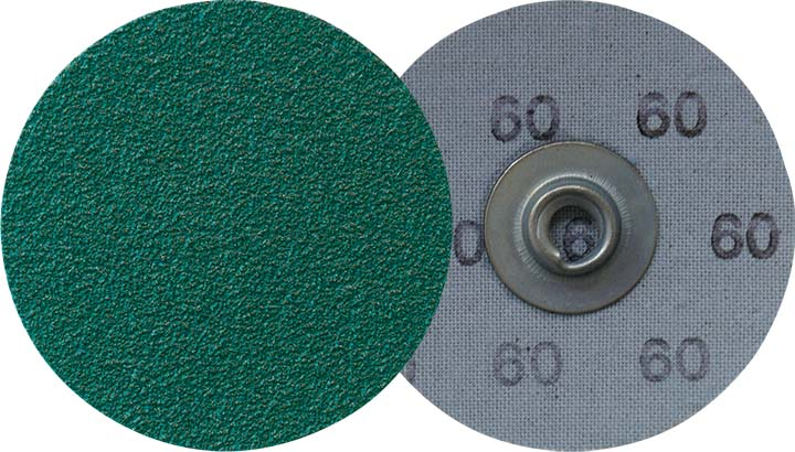 Socatt Discs Klingspor 295347 3 Inch Quickchange Socatt Cloth Disc 40 Grit CS409Y Zirconia Alumina Y-Weight