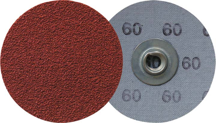 Socatt Discs Klingspor 295200 2 Inch Quickchange Socatt Cloth Disc 80 Grit CS412Y Aluminum Oxide Y-Weight
