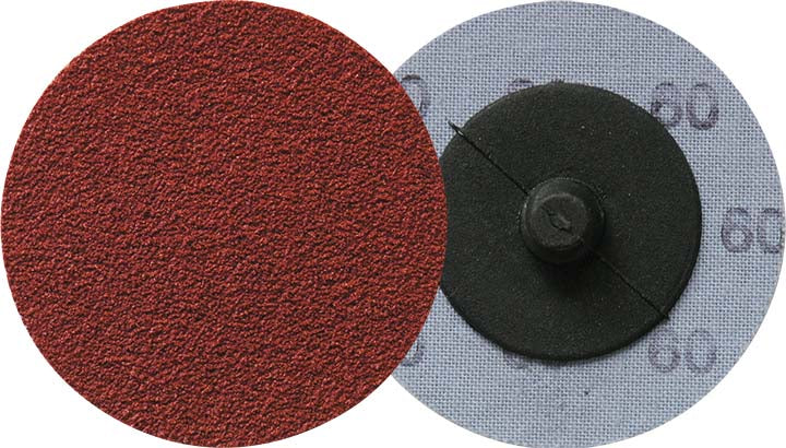 Roloc Discs Klingspor 295209 2 Inch Quickchange Roloc Cloth Disc 50 Grit CS412Y Aluminum Oxide Y-Weight