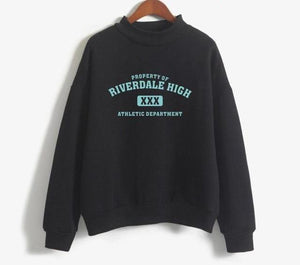 Sweat Femme - Riverdale High - The TV Guy Shop Cosplay déguisement t shirt accessoire riverdale stranger things teen wolf la casa de papel american horror story