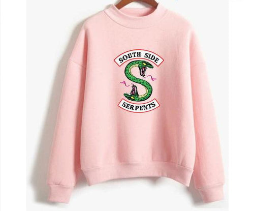 Sweat Femme - South Side Serpents - The TV Guy Shop Cosplay déguisement t shirt accessoire riverdale stranger things teen wolf la casa de papel american horror story
