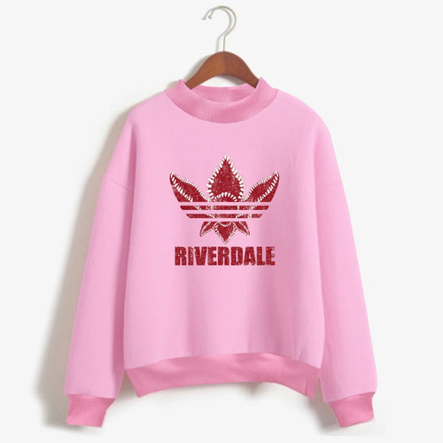 Pull Femme - Stranger Things X Riverdale - The TV Guy Shop Cosplay déguisement t shirt accessoire riverdale stranger things teen wolf la casa de papel american horror story