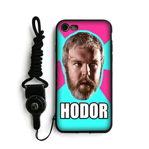 Coque iPhone HODOR ! - The TV Guy Shop Cosplay déguisement t shirt accessoire riverdale stranger things teen wolf la casa de papel american horror story