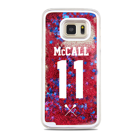 Coque Samsung Glitter Liquide - The TV Guy Shop Cosplay déguisement t shirt accessoire riverdale stranger things teen wolf la casa de papel american horror story