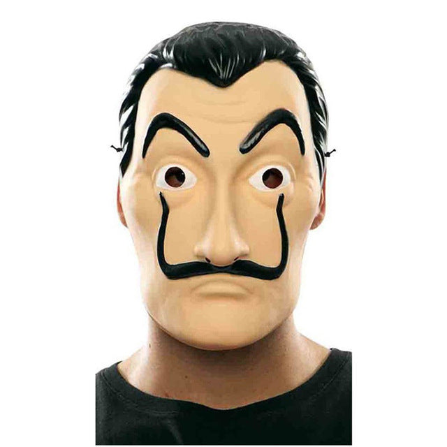 Masque Salvador Dali - The TV Guy Shop Cosplay déguisement t shirt accessoire riverdale stranger things teen wolf la casa de papel american horror story