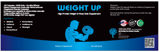 weight up capsules