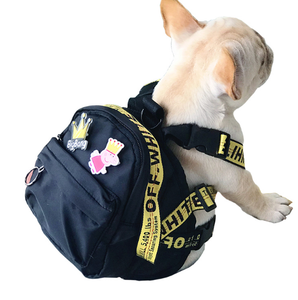 Woof-White Dog Backpack - Supreme Paw Supply