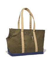 Load image into Gallery viewer, Wagwear Tri-Color Boat Canvas Dog Carrier - Supreme Paw Supply