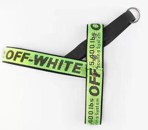 Woof-White Dog Leash & Harness Set - Supreme Paw Supply