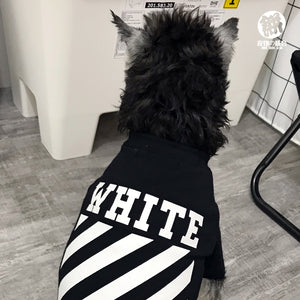 Woof-White Dog Tee - Supreme Paw Supply