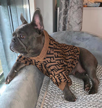 Load image into Gallery viewer, Fur Baby Coffee Dog Sweater - Supreme Paw Supply