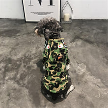 Load image into Gallery viewer, WGM Bathing Pup Camo Dog Hoodie - Supreme Paw Supply