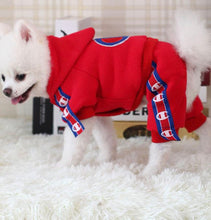 Load image into Gallery viewer, Chowpion Dog Jump Suit - Supreme Paw Supply