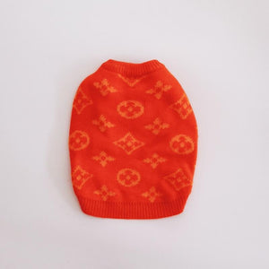 Chewy Vuitton Dog Sweater - Supreme Paw Supply