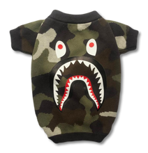 Load image into Gallery viewer, Barking Pup Camo Dog Sweater - Supreme Paw Supply