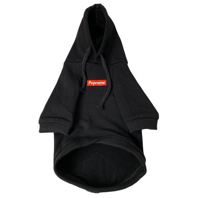 Pupreme Classic Dog Hoodie - Supreme Paw Supply