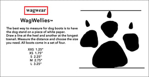 WagWellies Dog Boots - Supreme Paw Supply