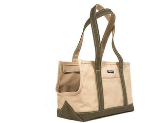 Wagwear Boat Canvas Zipper Dog Tote - Supreme Paw Supply