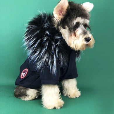 Canada Pooch Feather Down Dog Coat - Supreme Paw Supply